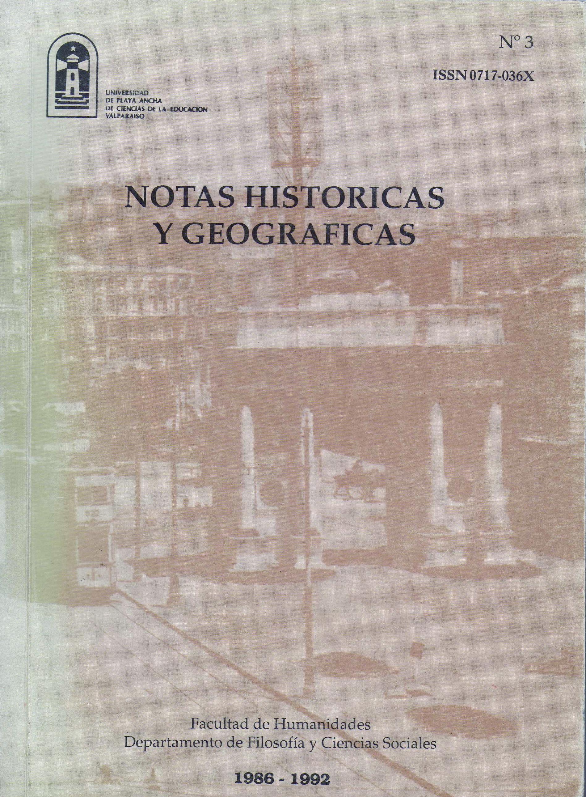 Ver Número 3 / 1986-1992